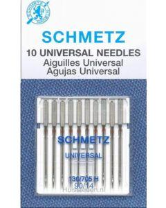 Schmetz Universeel naald 90/14 10st