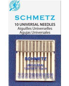 Schmetz Universeel naald 70/80/90 10st